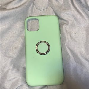 mint green iphone 11 case